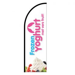 yoghurtijsbeachflag-los