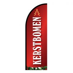 Kerstbomen-beachflag-los
