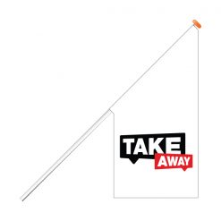 Take-away-kioskvlag