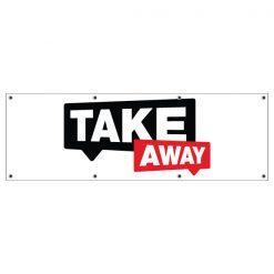Take-away-spandoek