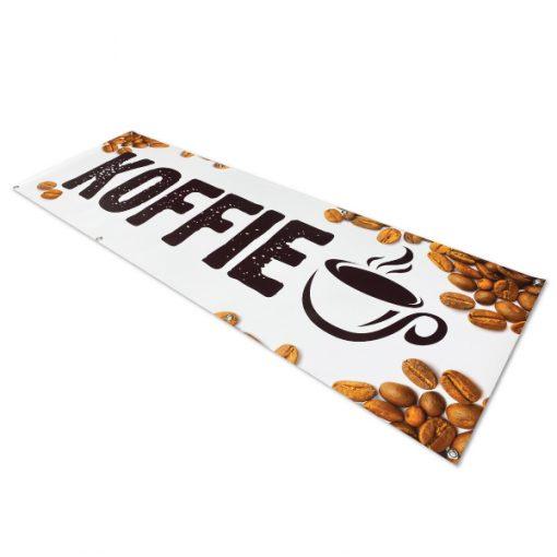 koffie-spandoek