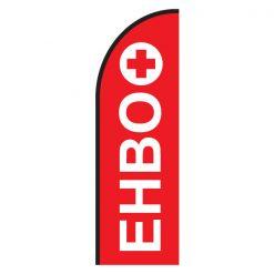 EHBO beachflag